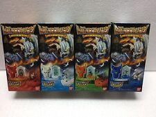 Bandai Legendz Tale of Dragon Kings Figure Tornado Volcano Storm Earthguake Set