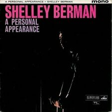 SHELLEY BERMAN A Personal Appearance LP Vinyl Record Album 33rpm HMV Verve 1961