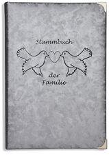 Stammbuch der Familie -Holu-, silber, Familienstammbuch, Familienbuch, Hochzeit