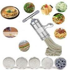 Stainless Steel Pasta Noodle Maker Vegetable Fruit  Press Spaghetti Machine HOT