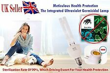 99% de protección anti bacterias meticuloso de salud lámpara esterilización UV + Adaptador