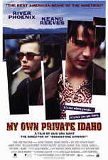 MY OWN PRIVATE IDAHO Movie POSTER 27x40 River Phoenix Keanu Reeves James Russo