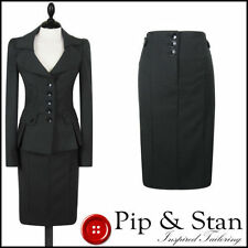 Plus Size Viscose Skirt Suits & Tailoring for Women