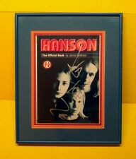"""Hanson"" signed official book! ""Taylor, Zac, & Ike""/Mmbop!"