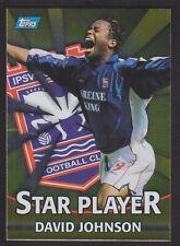 Topps Premier Gold 2001 - T9 Gold Foil Star Player - David Johnson - Ipswich