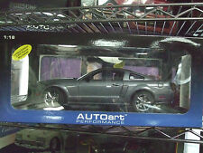 2007 SHELBY MUSTANG GT COUPE TUNGSTEN GREY METALLIC 1:18 DIECAST AUTOART 73116