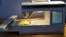 Husqvarna viking designer 1 sewing machine with embroidery attachment