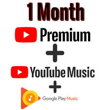 YouTube Premium & YouTube Music 1 Month | UPGRADE OWN ACCOUNT | FAST & EASY