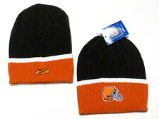 Cleveland Browns NFL Reebok Sideline YOUTH Hat Cap Orange Knit Winter Ski Beanie
