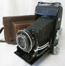 Zeiss Ikonta 521/2 Novar-Anastigmat 4.5/105mm Folding Bellows Camera c1938 Cased