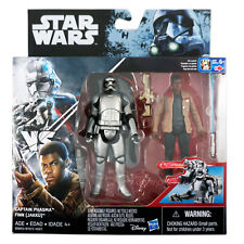 Star Wars The Force Awakens Captain Phasma & Finn (Jakku) Figures 3.75""