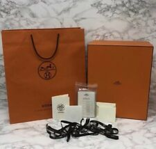"""BRAND NEW, PERFECT Authentic Hermes Box Gift Set + Extras 12.5"""" x 15.5"""" x 7.25"""""""