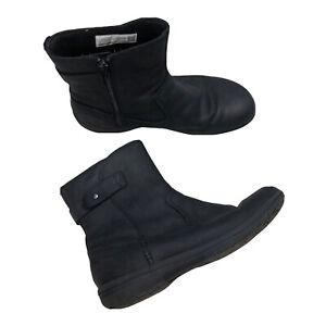 Merrell Encore Kassie Mid Black Boot Size 10 EUR 41 Waterproof J95316 A3T