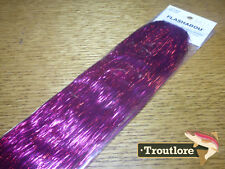 HEDRON FLASHABOU FUCHSIA - NEW STREAMER FLY TYING FLASH MATERIALS