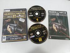 SOLDIER OF FORTUNE II GOLD EDITION JUEGO PARA PC 2 X CD-ROM EN ESPAÑOL RAVEN