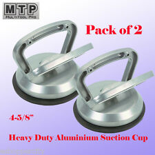 """2x Heavy Duty 4-5/8"""" Aluminium Suction Cup Dent Puller Lifer Glass Remover"""