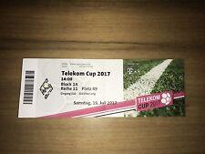Sammler Ticket Telekom Cup 2017 FC Bayern München FCB Gladbach Bremen Hoffenheim