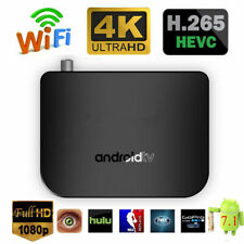 M8S PLUS DVB S2 Android 7.1.2 S905D TV Box Quad Core 4K WiFi HDTV Media Player