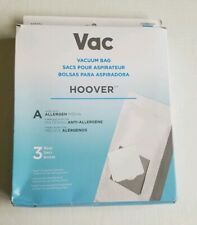 Hoover Vacuum Bags Fits A  Box of 3