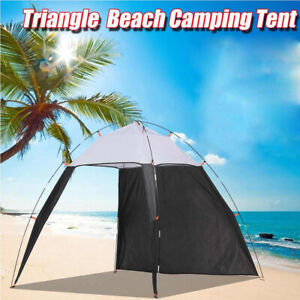 Outdoors Canopy Beach Shelter Sun Shade Fishing Camping Travel 5-8 People Quick