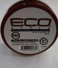 Eco Style Professional Styling Gel Coconut Oil Travel Size 3oz