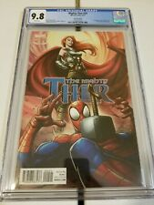 MIGHTY THOR #20 CGC 9.8 MARY JANE VARIANT SPIDERMAN COVER    RARE GRADED