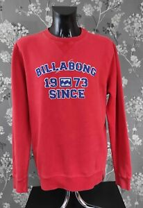 BILLABONG RETRO LOOK LOGO SWEATSHIRT. SIZE XL