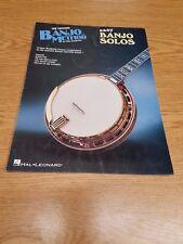Hal Leonard Banjo Method Mac Robertson Easy Solos 1982