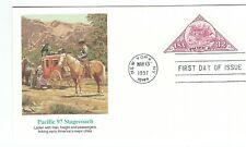 F6 FDC USA cover  Triangle shape stamp