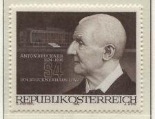 Österreich  1443  Eröffnung Anton-Bruckner-Haus in Linz, Komponist - 1974 **