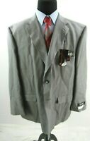 Blacker Performance Grey Mark Wool Suit Jacket Sport Coat Mens 56R 56 NEW