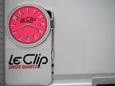 Aufkleber Sticker Le Clip - Swiss Quarz - Uhren (6603)