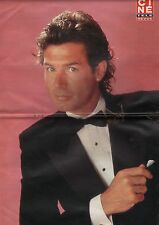 Coupure de presse Clipping 1988 Poster Jack Scalia  46 x 30