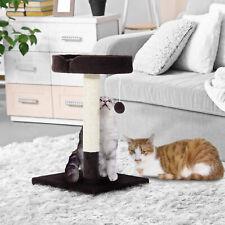 Árbol Rascador para Gato con Centro de Juego Cama y Poste para Arañar 45x45x70cm