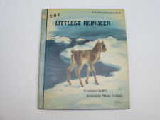 Littlest Reindeer Vintage Children's Book Cute Baby Animal Illustrated 1961