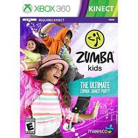 ZUMBA Kids (Microsoft Xbox 360 KINECT, 2013) - NEW!!!