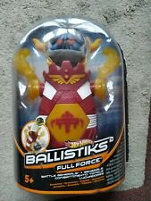 Hot Wheels Ballistiks Full Force Battle Generals Vehicle Toys