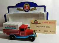 OXFORD DIECAST LIMITED EDITION CHEVROLET TRUCK - AMERICANA 2000 NO.1492 OF 2500