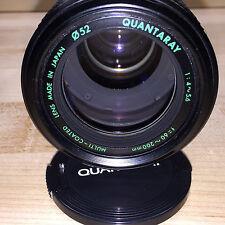 QUANTARAY 1:4-5.6 f = 60-200mm Multi-Coated Canon Mount **Near MINT**