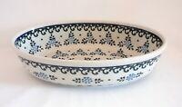 Geschenk Auflaufform - Servierschale aus Bunzlauer Keramik Handarbeit nh3213