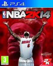 PS4 NBA 2K14 2K 14 BASKETBALL GIOCO 2014 Merce NUOVA