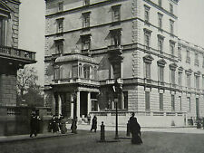 London French Embassy Albert Gate History Interior 1904 7 Page Photo Article