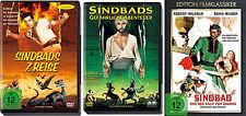 Sindbad Clásicos Colección 7 Séptima Viaje Abenteuer kalif de Bagdad 3 DVD NUEVO