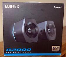 Edifier G2000 Pc Computer Speakers Desktop Laptop Gaming Rgb Lights Bluetooth