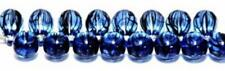 Czech Glass Beads Teardrop Beads Blue 9mm Approx 40 Beads *UK EBAY SHOP*