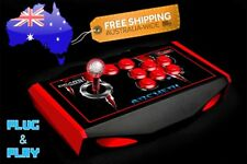 Arcade Fighting USB Stick Controller Joystick Gamepad For PC Mac Raspberry Pi 3
