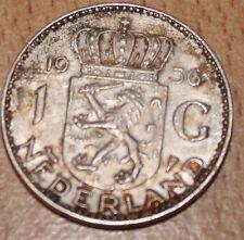1 Gulden Niederlande 1956