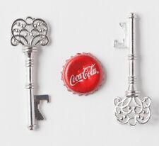 50 Antique Silver Skeleton Key Bottle Openers Vintage Keys