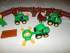 Ertl John Deere  Diecast Toy Tractor Lot and some Farm And Toys