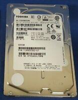 "Toshiba AL13SXB600N 2.5"" 600GB SAS15K 6Gb/s 512Bp/s HDD - Enterprise Grade"